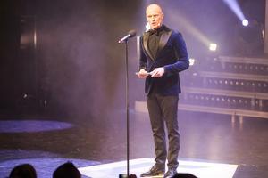 Tobias Karlsson var årets konferencier på Guldstänk.