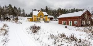 Det här huset i Skylnäs klickades mest i länet på Hemnet förra veckan. Foto: Bostada