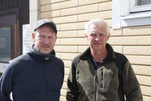 Niklas Wengström och Jack Olsson jobbar för Sveriges Sportfiske- och Fiskevårdsförbund.