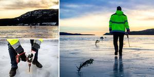 Nu är Örnsköldsviks kommun i full gång med att ställa i ordning Bäckfjärdens isbana.