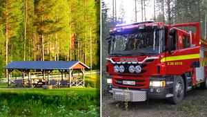Nu får Ramsjös brandmän en hyllningsfest i Enskogen.