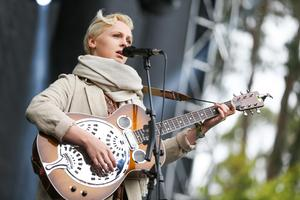 Laura Marling under Outside Lands Music Festival i augusti 2015.