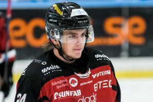 Axel Levander poängbäst i Hudik än så länge.