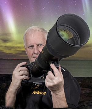 Håkan Karlsson har ägnat sig åt naturfotografi i många år och en hel del sportfoto också. Bild: Håkan Karlsson