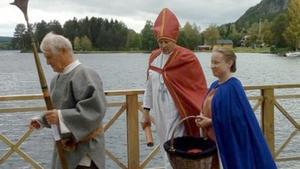 Gjurd Bodakarl, ärekebiskop Johannes och drottning Blanka av Namur medverkade förstås. Foto: Stefan Lindström