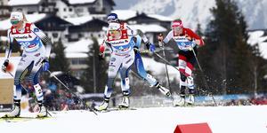 Efter att ha radat upp pallplatser i världscupen förra säsongen gjorde sjukdom att Ebba Anderssons form dippade till VM, där det inte blev några individuella medaljer. Bild: TT/AP Photo/Mathias Schrader