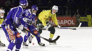 Eric Ågren gjorde 24 poäng (16+8) på 13 matcher förra säsongen när Motala gick upp i allsvenskan. Nu är bandykarriären slut. (Arkivbild)