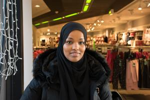 Sarah Abdullah, 30, sjuksköterskestuderande, Sundsvall: