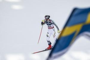 Ja, just det. Det tävlade även svenskar i den alpina kombinationen. Alexander Köll åkte in som tia till publikens stora jubel.