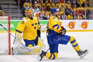 Mattias Ekholm och Jacob Markström. Bild: Joel Marklund/Bildbyrån