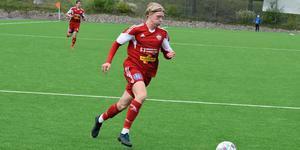 Hugo Svensson gjorde mål mot Västerbotten.