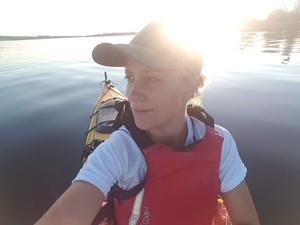 Efter tio år inom turism och restaurang insåg Ulrika Ahrnborg att hon ville utbilda sig till hälsopedagog. Foto: Privat