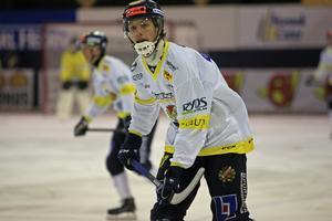 David Jansson var en av Falu BS bättre spelare.