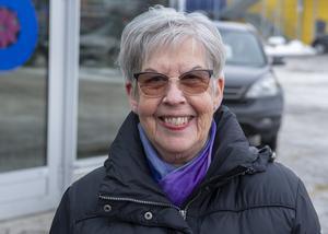 Kerstin Ahlén, 70+, pensionär, Sundsvall
