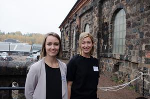 Ingrid Saksvik och Malin Bodin är projektledare, respektive kommunikatör, för projektet Arbetsmarknadskunskap Dalarna. De har sedan 2015 talat med 30000 ungdomar om yrkeslivet i länet.