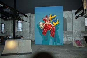 Muralmålning av Daniel Fahlström  alias Huge. Foto: Ulf Lundén