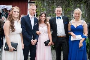 Ronja Bergsten, Adam Thalén, Elvira Snellman, Isak Rundblad och Andréa Berglund.