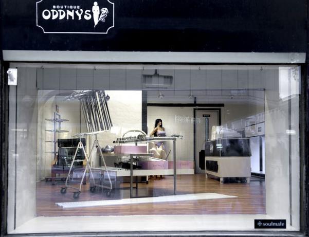 Boutique Oddnys har stängt för gott. 48d0446edf1a4