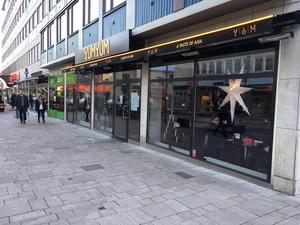 Yum Yum i centrala Västerås  får höjt av Lunchkollen från tre till fyra gafflar.Foto: Lunchkollen