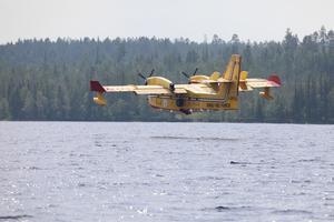 Italienskt flygplan Orrmosjön Lillhärdal