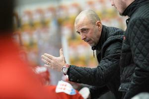 Timrå-tränaren Marcus Sjöberg var nöjd med sitt lag trots  uttåget ur SM-slutspelet.