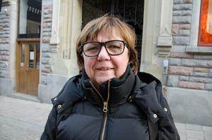 Ulla-Maria Jonsson, 69, pensionär, Sundsvall: