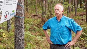 Nu måste skogsområdet som brann hållas under övervakning, enligt Eric Sundstedt, som är Snevringe Häradsallmännings skogsförvaltare. Foto: Magnus Östin/Arkiv