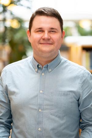 Niklas Säwén (S). Bild: Jan Röhlander / Socialdemokraterna