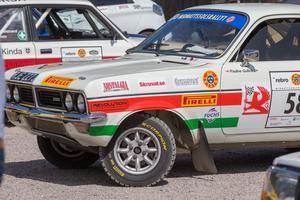 Jimmy McRaes tävlingsbil, en Vauxhall Firenza.