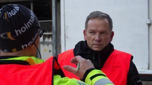 John-Olof Diegnér, chef på inre vaktmästeriet på Falu lasarett.