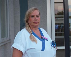 Annika Andersson utsattes för våld när hon skulle ta provet på en patient.