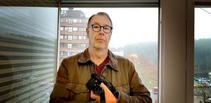 Stefan Åhbeck, verksam fotograf i Södertälje. Foto: LT