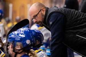 Lars Stenmark deppade inte ihop trots förlusten. Foto: Daniel Eriksson (Bildbyrån).