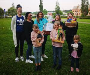 Kastanjens hemtjänst vann årets kubbturnering. Läsarbild.