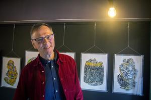 Fotograf Jostein Skeidsvoll har haft ett antal utställningar tidigare.