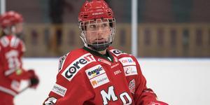 Marion Allemoz stod för två mål och två målgivande passningar mot Brynäs.