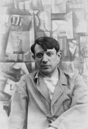 Pablo Picasso 1912. Foto: Okänd