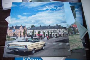Den tjugonde Köpingsboken ser ut så här. Mycket lokalhistoria och även en del sport finns med innanför pärmarna.
