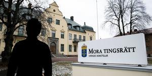 En man åtalas för ofredande av Mora tingsrätt. Foto: Mikael Hellsten/Arkiv