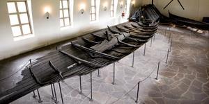 I Norge har många vikingatida fartyg hittats. Tuneskeppet är ett av dem. Foto: Bjørn Sigurdsøn