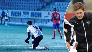 Victor Sköld reste sig på nio – och gjorde två mål mot Karlslund. Måltorkan är bruten.