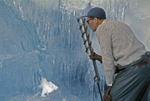 Backa Erik Eriksson var också glaciärforskare och hans doktorsavhandling kom ut 1958, samma år som han senare avled. Foto: Privat