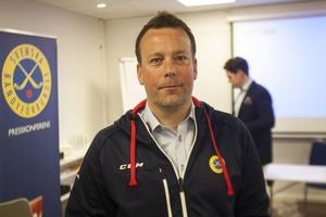 Svenne Olsson valdes till förbundskapten för herrlandslaget i juni.