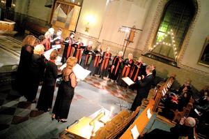 Arkivbild från en av Belladonnakörens tidigare konserter i Norbergs kyrka. Foto: FP:s arkiv