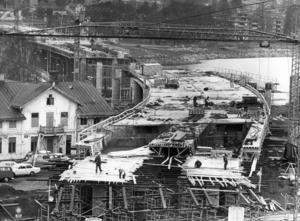 Bron från fastlandssidan maj 1971. Foto: ÖP:s arkiv