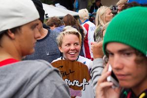 31 augusti: Judith Hoppe tar EM-brons i wakeboard på Eskiln.