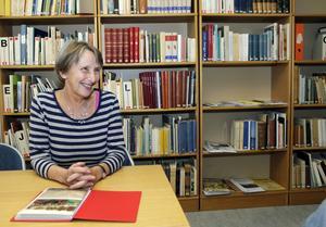 På stadsarkivet väcktes nyfikenheten. Ann-Marie Alfredsson har läst bland annat lokalhistoria och arkivvetenskap.
