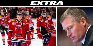 Örebro Hockey sparkar Niklas Sundblad. Foto: Bildbyrån