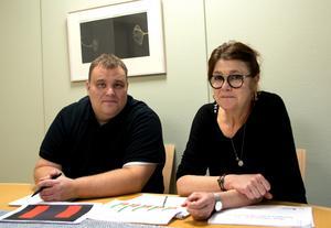 Robert Gatugård och Eva Leijon arbetar inom socialtjänstens individ- och familjeomsorg i Sundsvall.