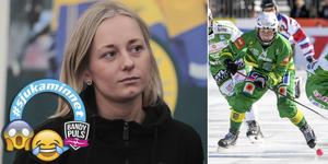 Camilla Andersson skulle punkta Galina Michailova – det gick... sådär. FOTO: Rikard Bäckman/TT